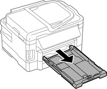 how to fix paper jam in epson wf2630