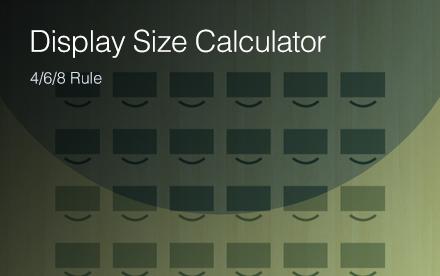 Projection distance calculators | epson us.