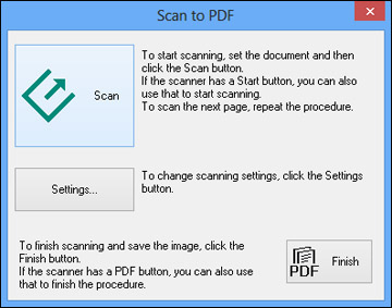 windows fax and scan pdf multiple pages