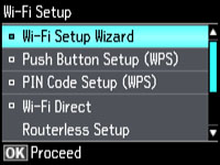 Enabling Wi-Fi Direct Mode