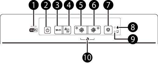 Led wifi epson l395