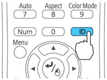 Setting the Remote Control ID