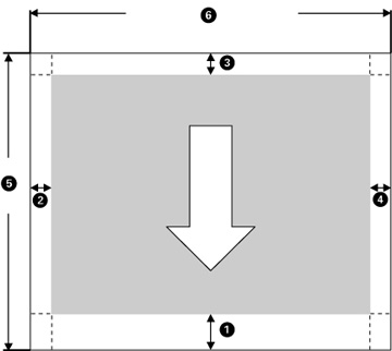 picture about Printable Margins referred to as Printable Nearby Standards