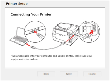 Setting Up Your Product Using a Temporary USB Connection