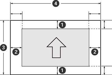 image regarding Printable Margins identified as Printable Room Standards