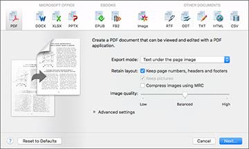 Scanning Using OCR - Mac