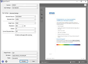 epson scan 2 utility windows 7