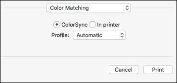 Mac Color Matching