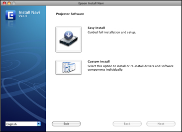 Installing Easy Interactive Tools