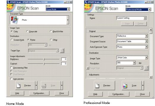 epson software zum scannen