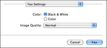 send email to fax machine mac