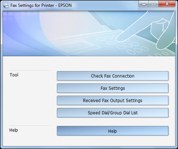 how to set up fax on printer