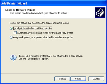 Changing the language of the printer software screens standard.