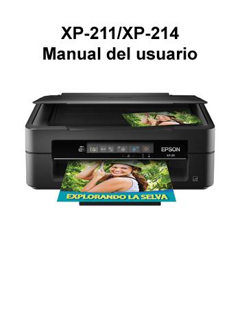 manual del usu rio de las impresoras xp 211 xp 214 rh files support epson com manual de impresora epson stylus tx115 manual de impresora epson l375