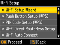 Using WPS to Connect to a Network