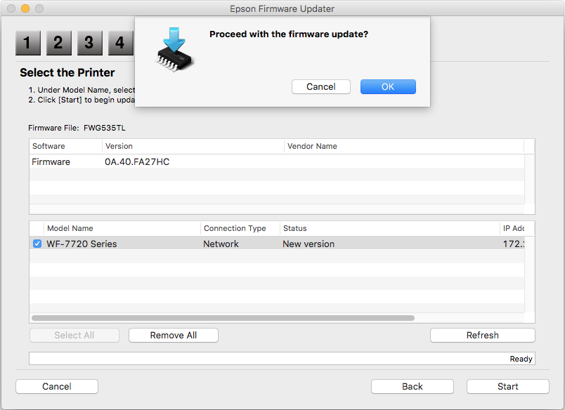 how do i update firmware on my brother printer