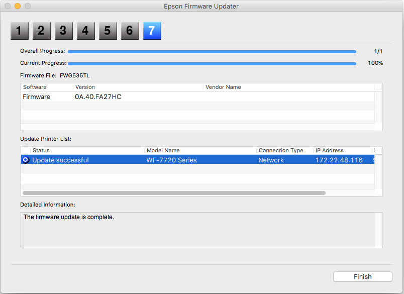 Updating your Printer's Firmware Using Epson Software